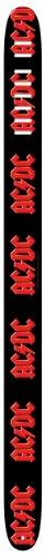 Perri's Leathers 6024 - Tracolla per chitarra, motivo: AC/DC, larghezza: 6,4 cm