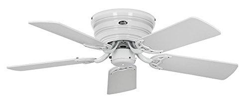 Unbekannt–Ventilateur de plafond, plancher 103-iii We aile Laque Blanche/Gris clair