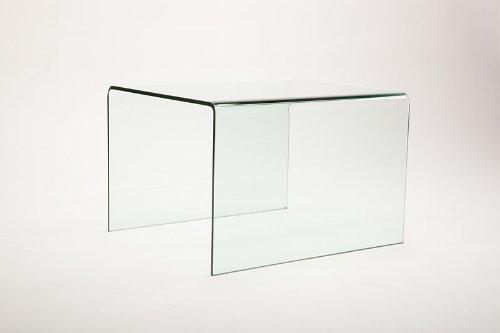 Vetrostyle Design Beistelltisch gebogenes Klarglas MINI -