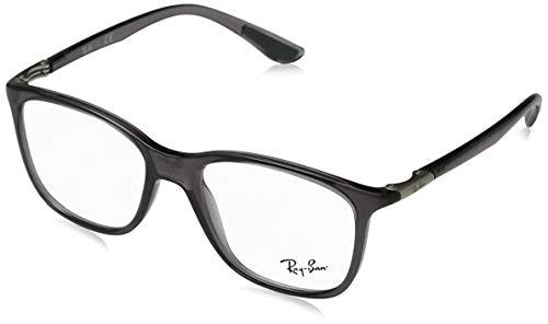 Ray-Ban Unisex-Erwachsene 0rx 7143 5620 51 Brillengestelle, Grau (Transparente Grey),