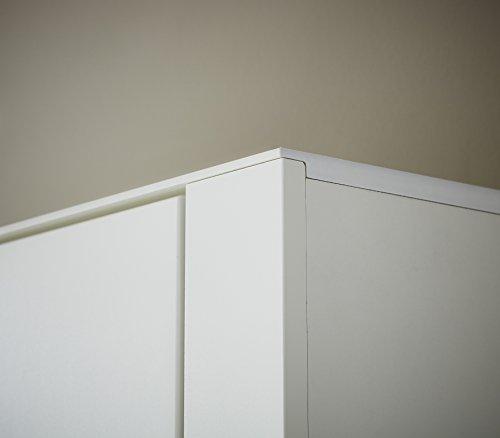 Paul DOWWA61024 Kommode, Holz, weiß, 41 x 100 x 87 cm - 5