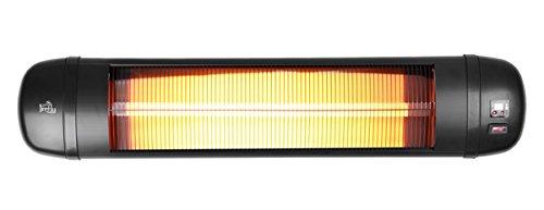 Firefly 2.000 Watt Infrarot-Heizstrahler (Quarz) Terrassenheizung, Wandmontage, 3 Leistungsstufen, inkl. Fernbedienung - 4