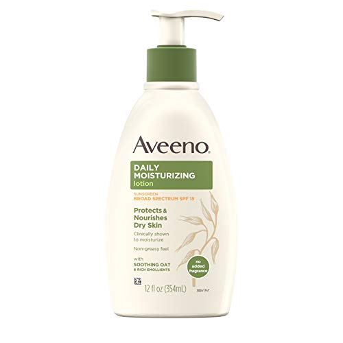 Aveeno Daily Moisturizing Lotion with SPF 15 - 12.0 oz. (Sonnenschutzmittel) -