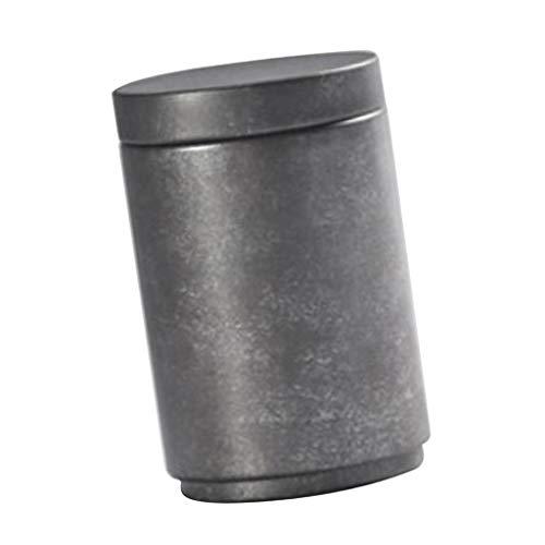 SM SunniMix Antike Metall Tee Gewürze Vorratsdosen Zuckerdose Teedose Kaffeedose Dose mit Deckel - C Antike Tee