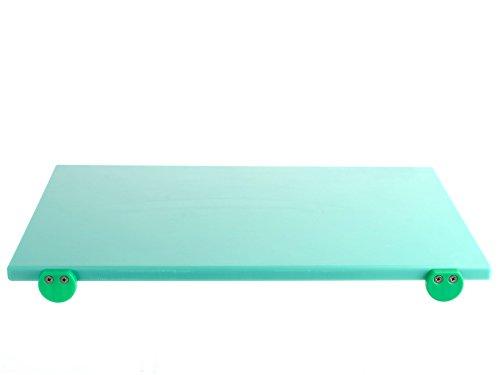 BERTOLI Tagliere plastica verde con batterie 60x40x2 Accessori da cucina