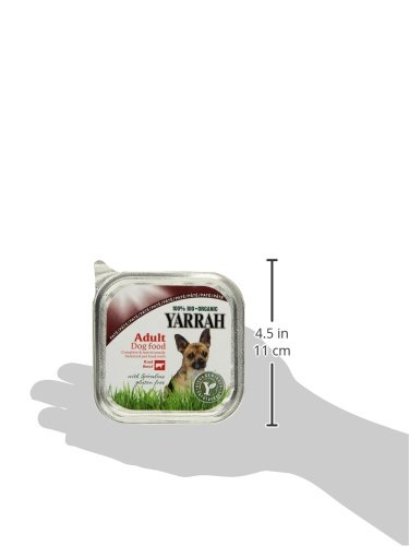 Yarrah Pate Rind Spirulina 150g Bio Hundefutter, 14er Pack (14 x 0.15 kg) - 4