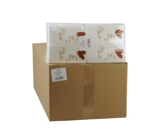 Funny Motivservietten, 2 lagig, Herzlich Willkommen / Guten Appetit 33 x 33 cm 1/8 Falz, 8er Pack (8 x 250 Stück)