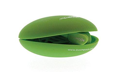 Preisvergleich Produktbild Boompods EPIGRN MFi In-Ear Kopfhörer mit Mikrofon und Fernbedienungstaste(n)staste,  grün