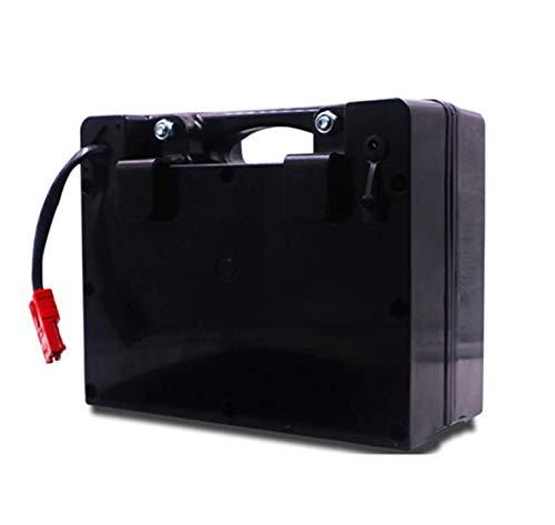 ZYT Faltrollstuhl und Elektrisch Rollstuhl Lithium-Batterie 24V