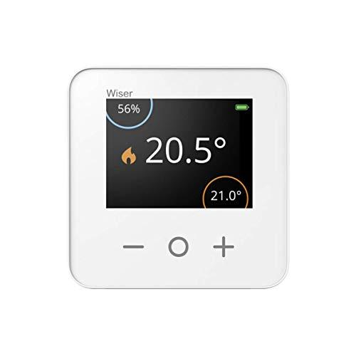 Smartes Raumthermostat Raum-Thermostat für Wiser, LCD-Display, Feuchtigkeitssensor