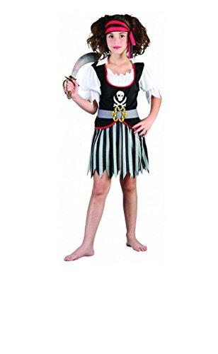 cy Kleid Kinder Kostüm Welt Buch Tag Alter 4–12(Streifen Rock) Gr. L (10-12 Jahre), Weiß (Kostüme Für Welt Buch Tag)