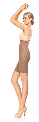 Spanx Pantaloncini contenitivi e modellanti Super Higher Power Beige