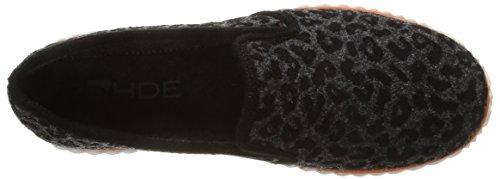 Rohde  2202,  Pantofole Donna Grigio (Gris (Anthracite))