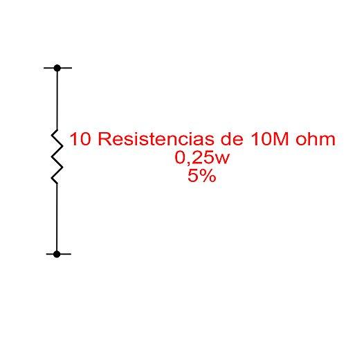 red-planet-50x-resistencias-de-carbon-10m-ohm-1-4w-5
