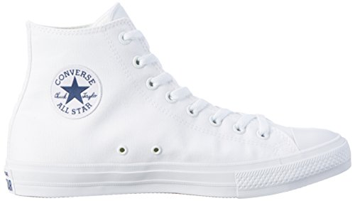 Converse Ct Ii Hi, Sneakers Homme Blanc (White/white/navy)