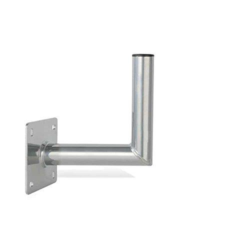 PremiumX 25cm Wandhalter ALU SAT Wand Halter aus Aluminium Wandhalterung TÜV-Geprüft Wandabstand 25 cm (Aluminium-wandhalterung)