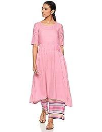 Gerua Women's Anarkali Salwar Suit Set