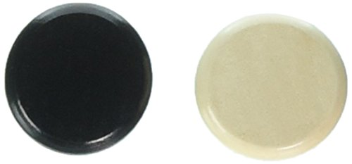 24 Crokinole Discs, 12 Black and 12 White. Made of Wood. Standard Weight and Size. Refill Pack Or Replacement Discs for Crokinole & Checkers.