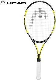 HEAD Titanium 1000 Tennis Racquet, Black/Yellow
