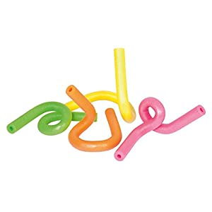 Bestway - Tubi Aquabones a Memoria di Forma, Diametro: 6,5 cm, Lunghezza: 122 cm