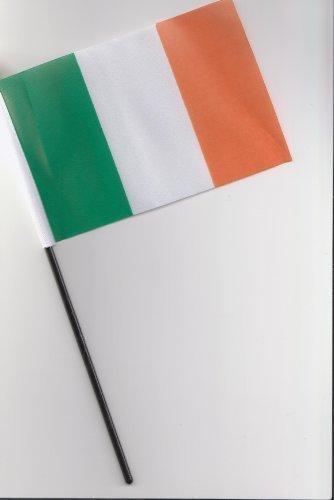 Drapeau de l'Irlande à main 25 cm
