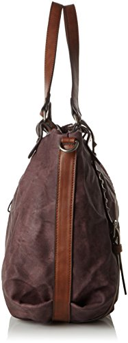 Tom Tailor Acc Damen Gesa Shopper, 44x25x15 cm Rot (wine 48)