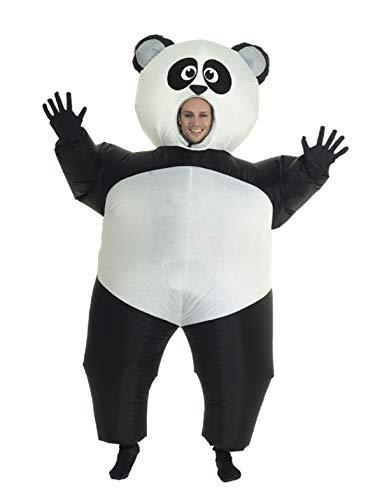 Panda Kostüm - TrendClub100® Aufblasbares Panda Kostüm mit Ventilator