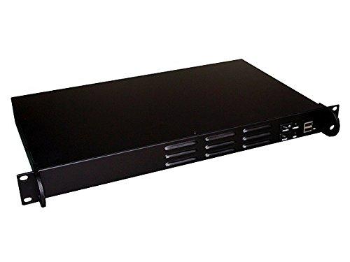 GUANGHSING GHI-106A, 19 Zoll (19″) Rackmount Server Gehäuse, 1U (1HE), Mini ITX (6,7″ x6,7), Tiefe Nur 250mm,Schwarz