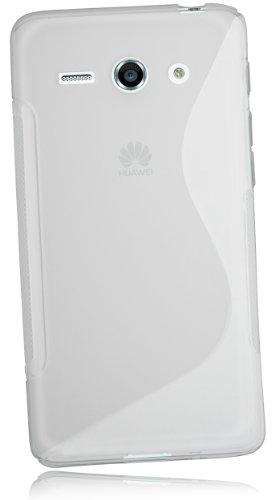 mumbi S-TPU Schutzhülle für Huawei Ascend Y530 Hülle transparent weiss