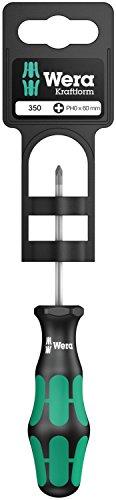 350 PH SB Schraubendreher für Phillips-Schrauben , PH 0 x 60 mm, Wera 05100050001