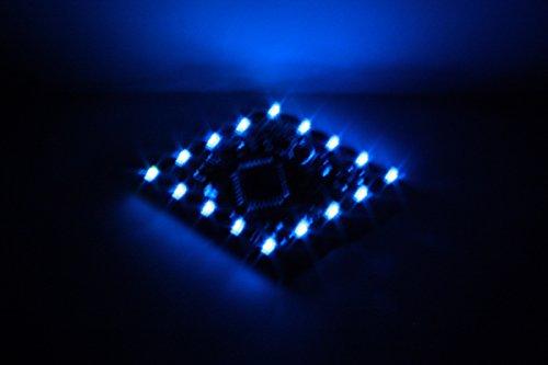 Produktbild LED-Party-Button-16 Raute ,  Blinklicht,  Lauflicht ,  Lichteffekte programmierbar