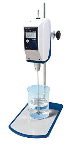 Witeg Labor-Rührwerk HS-100D-Set 20L 200-3000U/min, digitale Steuerung, High-Speed, inklusive Propeller-Rührer PL015, Klemme und Stativ, LCD-Display