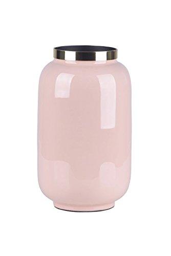 Gift Company Vase mit Metallring SAIGON Blush/Gold Höhe 20 cm, Größe S (Vase Blush)