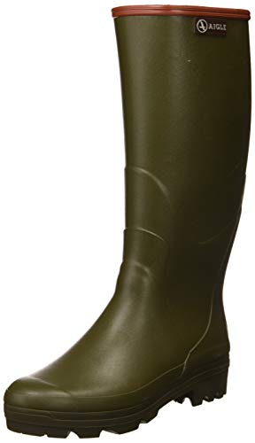 Aigle Chambord PRO 2, Stivali di Gomma da Lavoro Uomo, Verde (Kaki 001), 40 EU