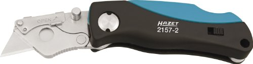 Hazet Mini-Universalmesser (inkl. Ersatzklingen, einfacher Klingentausch) 2157-2