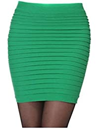13707cdc5 Yingwei Lady OL Sexy Mini Skirt Striped Short Slimming Pencil Skirt 13  Colors
