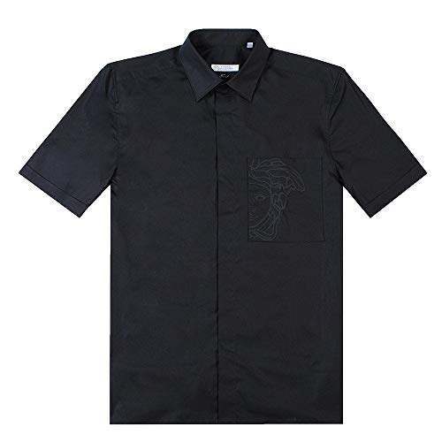 Versace Kollektion Medusa Taschenhemd EXTRA EXTRA Large Black