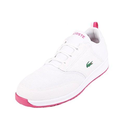 Lacoste L.ight 117 1 SPJ White Pink Weiß