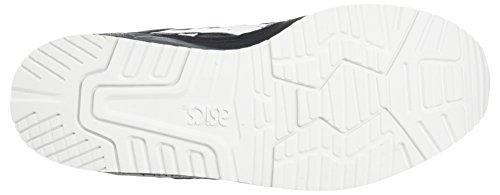 Asics Unisex-Kinder Gel-Lyte Iii Ps Laufschuhe Grau (Dark Grey/white)