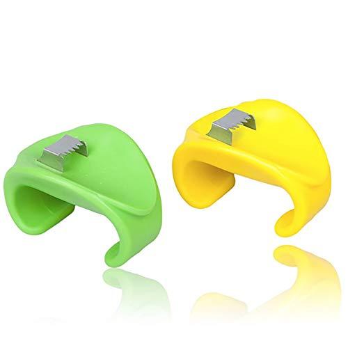 WEIWEITOE-DE Kreative Cob Corn Stripper Küchenwerkzeuge Mais Abisolierwerkzeug Cutter Remover, Bunte, -