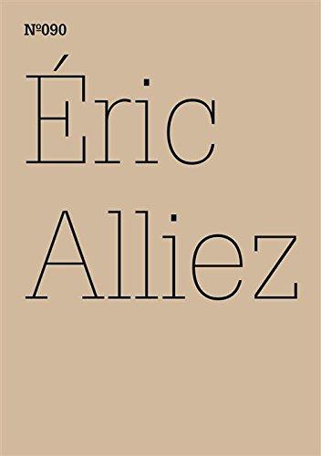 Éric Alliez: Diagramm 3000 [Worte] (dOCUMENTA (13): 100 Notes - 100 Thoughts, 100 Notizen - 100 Gedanken # 090) (dOCUMENTA (13): 100 Notizen - 100 Gedanken) (Worte Diagramm)