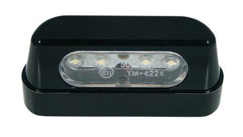 VIPER MOTO Accessories  Motorrad-Zubehör Beleuchtung Nummernschildbeleuchtung Rechteckige LED -Kennzeichenbeleuchtung, N/A One