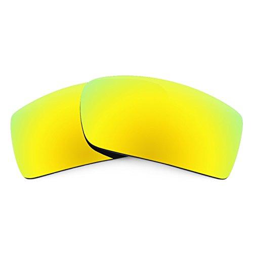 Verres de rechange pour Oakley Thump 2 — Plusieurs options 24K Or MirrorShield® - Polarisés