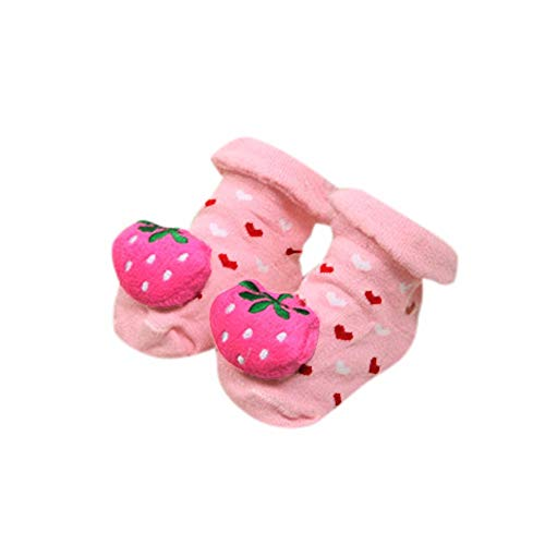 YWLINK Cartoon Neugeborenen Baby MäDchen Süß 3D Tier Cartoon Bequem Socken Anti-Rutsch-Socken Jungen Slipper Schuhe Stiefel -