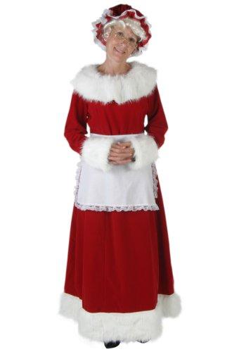 Fun Kostüme Damen Plus Größe Frau Claus Kostüm (Mrs Santa Claus Anzug)