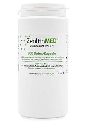 Zeolita MED 200 Cápsulas