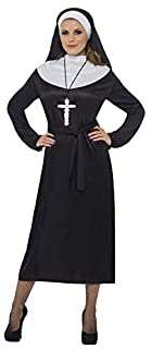 Smiffys Costume de religieuse, noir, avec robe et coiffe (B000WNKZ6Y) | Amazon Products