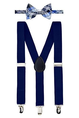 Retreez promete ofrecer productos de calidad a un precio realmente asequible. Aplica el aspecto de tu hijo con este clásico corbata y un lazo elegante, adecuado tanto para uso casual como formal. Juego de 2 piezas: 1 colgante y 1 pajarita preatada.  ...