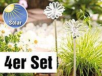 "Lunartec Solar-LED-Gartendeko ""Sonnenblume"", 4er-Set von Lunartec auf Lampenhans.de"