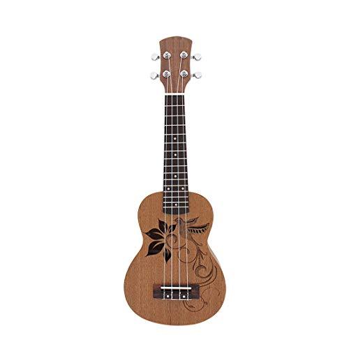 21 Pollici 15 Frets 4 Stringhe Ukulele Soprano Sapele Uke Uccello Fiore Rosewood Mini Chitarra Guitarra Musica a Corda Ukulele Concerto